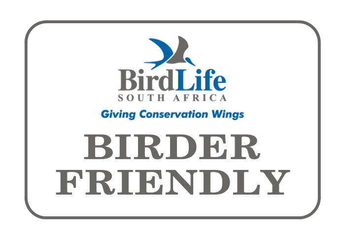 Birder Friendly - Bird Life South Africa